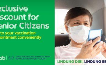 Grab Vaccination Promo