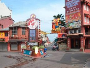 Jonker Street Melaka empty
